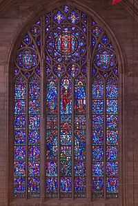 The Crucifixion window