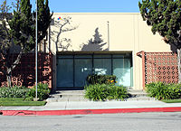1400 Flower Street in Glendale, California, one of several buildings used by Walt Disney Feature Animation between 1985 and 1995.