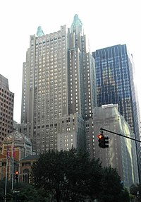 NYC's Waldorf-Astoria Hotel, where Hilton spent her teenage years and started as a socialite.
