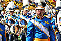 The Solid Gold Sound of the UCLA Bruin Marching Band