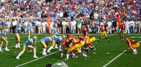 A UCLA-USC rivalry game.