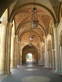 Vaulted arches of Royce Hall