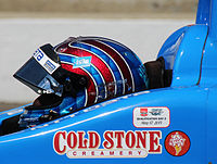 Kanaan in the driver's seat of the No. 10 NTT Data IndyCar