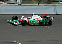 Kanaan practicing for the 2007 Indianapolis 500