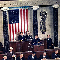 President Kennedy delivers his third State of the Union address, January 14, 1963
