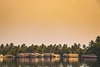 A Houseboat in Alleppey