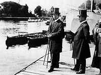 Crown Prince Hirohito in Oxford (1921)