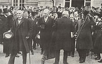 Heads of government wore frock coats at the formal signing of the Treaty of Versailles in 1919.