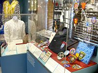 Embroidery and lace exhibit at Union City's Park Performing Arts Center