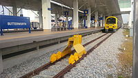 Butterworth railway station, one of the major train stations in Peninsular Malaysia, has services into Thailand as well.