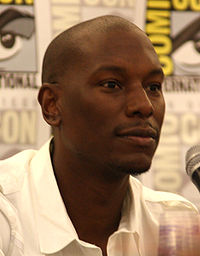 Tyrese Gibson appeared in the music video
