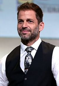 Zack Snyder, the director of Man of Steel, Batman v Superman: Dawn of Justice, and Justice League.