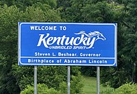 State sign, Interstate 65
