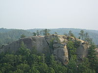 Red River Gorge is one of Kentucky's most visited places.