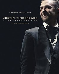 Netflix promotional poster for Justin Timberlake + The Tennessee Kids