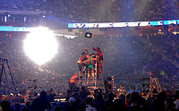 A WWE Money in the Bank ladder match, 2009