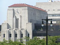 Former Los Angeles Times headquarters in the Civic Center