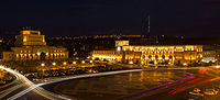 Lenin Square (Now Republic Square) was the main square of Yerevan from 1926 to 1991