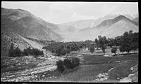 The valley beyond Paghman, 1924