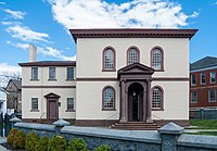 Touro Synagogue in Newport is the oldest existing synagogue building in the United States