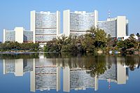 The United Nations Office in Vienna is one of the four major UN office sites worldwide.