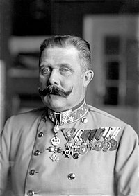 Archduke Franz Ferdinand (right), whose assassination sparked World War I, one of the most disastrous conflicts in human history