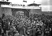 The liberation of Mauthausen concentration camp, 1945