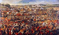 The Battle of Vienna in 1683 broke the advance of the Ottoman Empire into Europe.