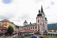 The Basilica of Mariazell is Austria's most popular pilgrimage site.