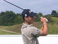 Kaymer at the KLM Open in 2008