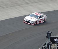 Kyle Larson was the fastest in the first practice session.