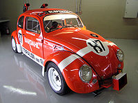Twin-engine racing Beetle developed by Wilson and Emerson Fittipaldi