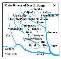 List of rivers of West Bengal