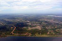 An aerial view of Southern Province.