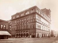 Carnegie Hall in 1895