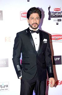 Khan at the 61st Filmfare Awards, which he hosted