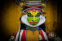 Kathakali one of classical theatre forms of India