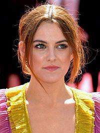 American actress and model Riley Keough (pictured) is Timberlake's love interest in the video.
