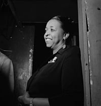 """Ethel Waters sang """"Stormy Weather"""" at the Cotton Club."""