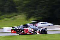 Bell's No. 18 Xfinity car at Road America in 2017