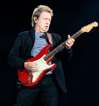 Guitarist Andy Summers performing in Marseille with the group, June 2008