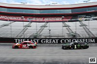 Kyle and Kurt Busch finished 1-2 in this race.