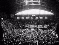 Inauguration of United Church at Mutual Street Arena, Toronto, on June 10, 1925