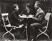 Hans Bethe, aged 12, with his parents