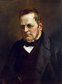 Count Camillo Benso of Cavour, the first Prime Minister of the unified Italy