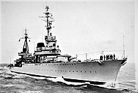 Cruiser Raimondo Montecuccoli, used in many successful battles such as the First Battle of Sirte (1941) and Operation Harpoon (1942)