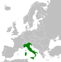 The Kingdom of Italy in 1936