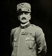 Armando Diaz, Chief of Staff of the Italian Army since November 1917, halted the Austro-Hungarian advance along the Piave River and launched counter-offensives which led to a decisive victory on the Italian Front. He is celebrated as one of the greatest generals of World War I.