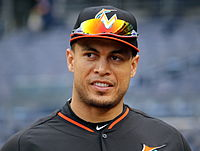 Stanton with the Marlins in 2015