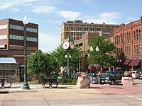 Sioux Falls, with a population of around 160,000, is the largest city in South Dakota.